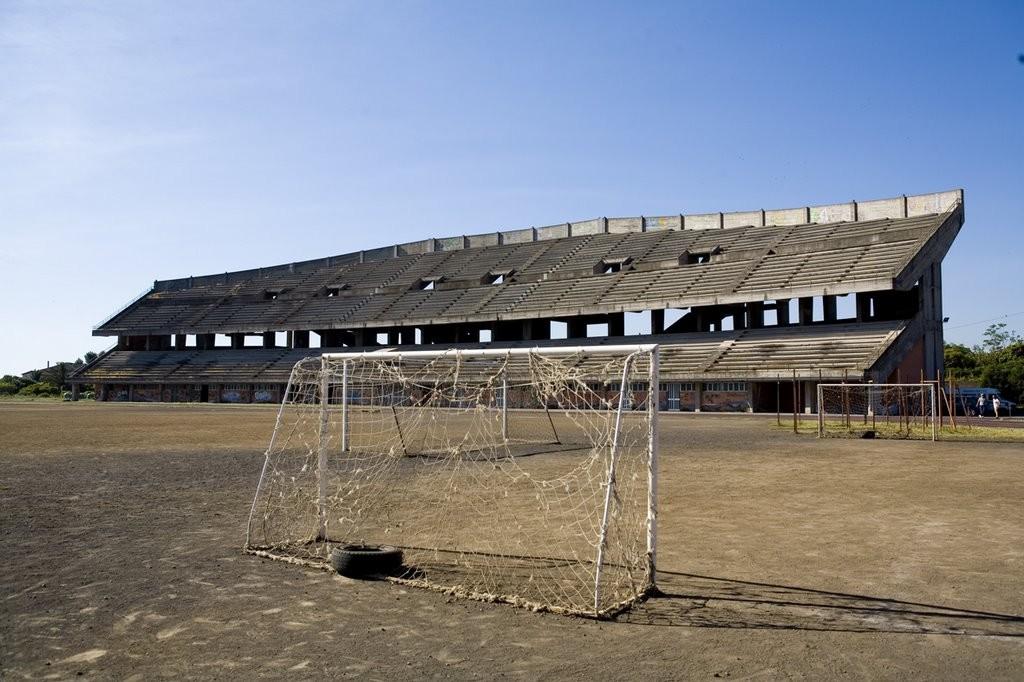 Giarre stadium, Sicily, Italy http://brutalistfootball.tumblr.com/page/7