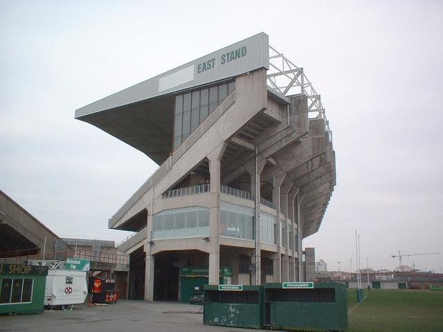 Lansdowne Road, Dublin, Ireland Demolished in 2007 http://brutalistfootball.tumblr.com/page/7