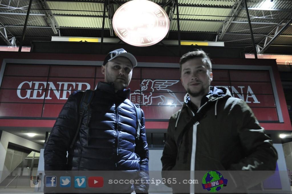 FK Austria , soccer trip 365 pod stadioniemAC