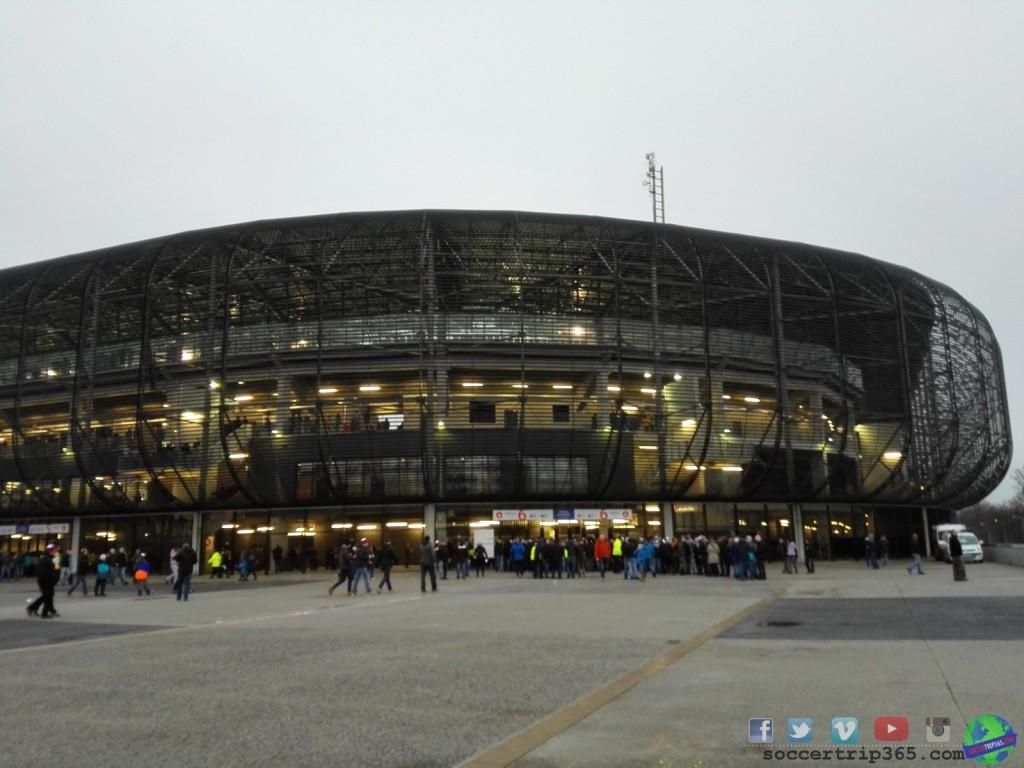 derby tak przedstawia się stadion w Zabrzu