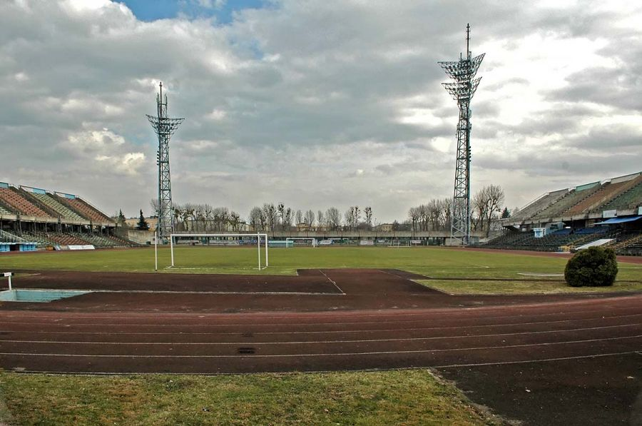 Stary stadion Stali Mielec http://photoart.mielec.pl